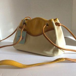 New HOBO Crossbody Leather Bag